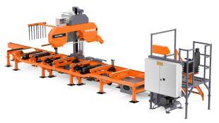 WM3500 industriell båndsagbruk