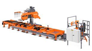 WM4000 industriell båndsagbruk