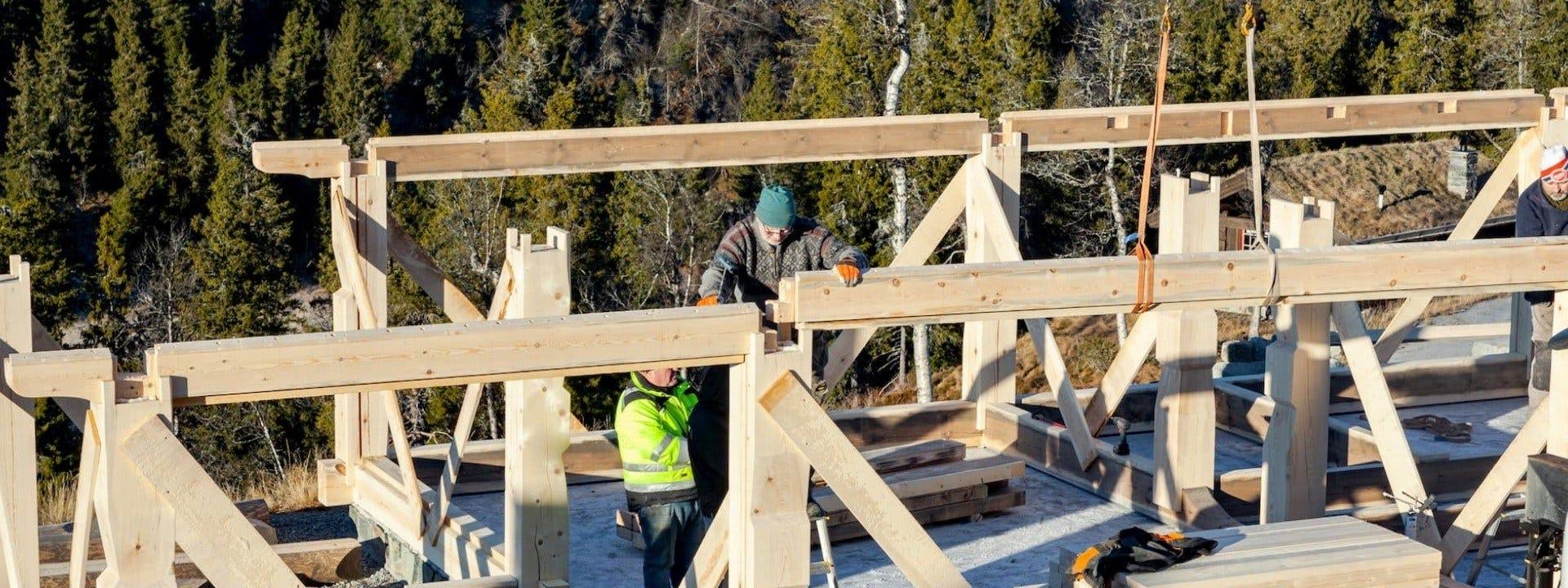 Norwegian timber frame techniques