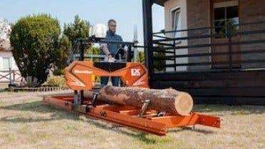 Wood-Mizer Introduserer Kompakt, Økonomisk LX50 Sagbruk.