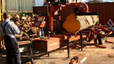 Mobile Sawmilling in Scotland