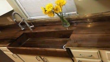 DIY: Tre vask og benkeplate for gårdshus