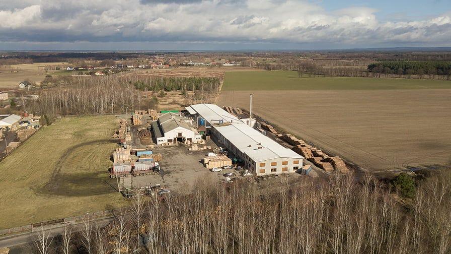 AMESKO pallet factory in Poland