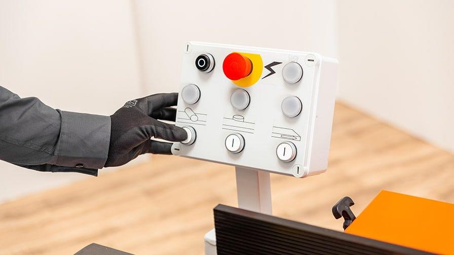 Wood-Mizer MP180 control panel