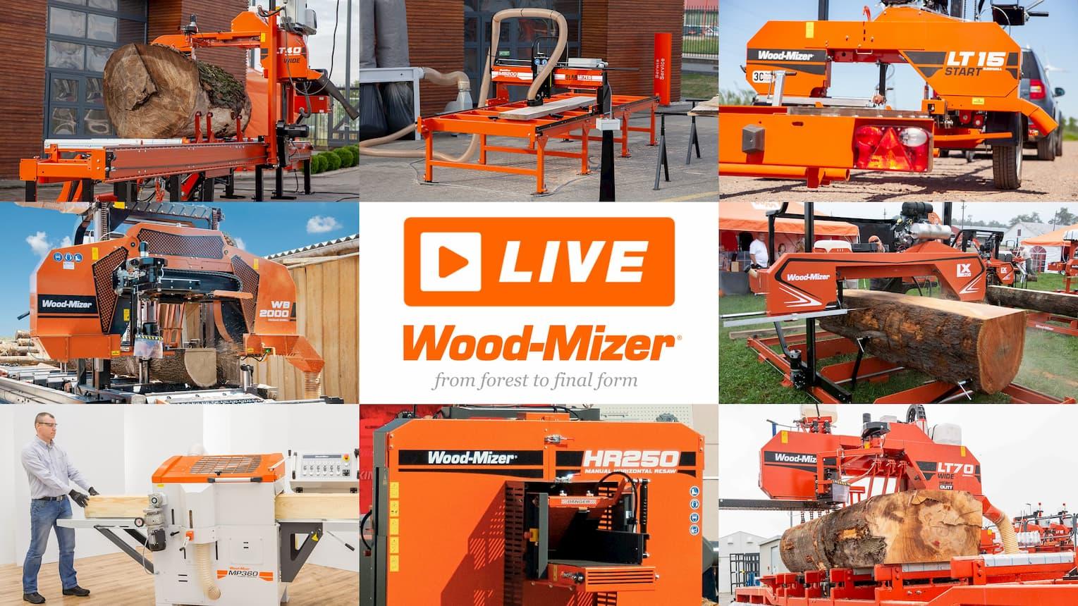Wood-Mizer LIVE